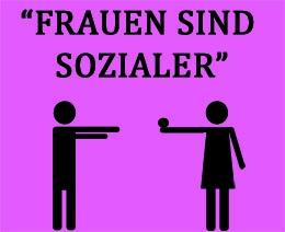 Soziale Ader bei Frauen